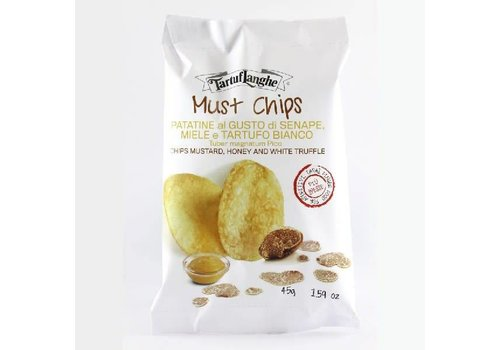 Tartuf Langhe Truffel, Mosterd & Honing Chips