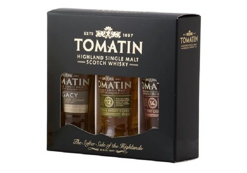 Gift Pack Tomatin Whiskies