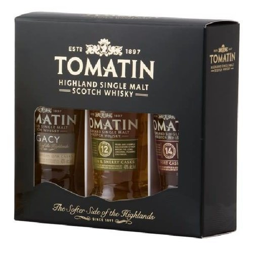 Gift Pack Tomatin Whiskies 3 x 5cl