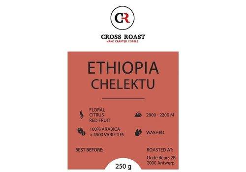Cross Roast Koffiebonen Ethiopia Chelektu