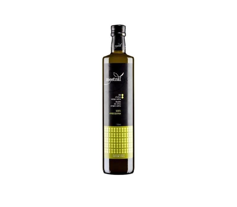 Arbequina Extra Vierge Olijfolie 750ml Mestral