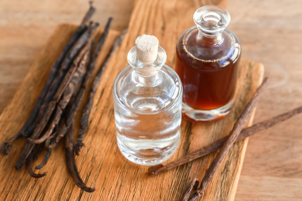 Zelfgemaakt vanille extract