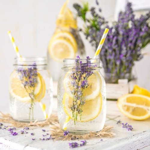 Citroen & Lavendel Infused Water