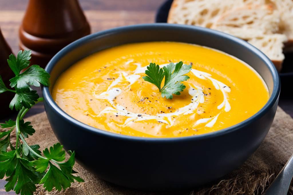 Pompoensoep met Curry