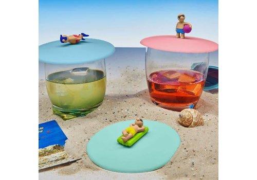Deksel voor Glas Beach Boy