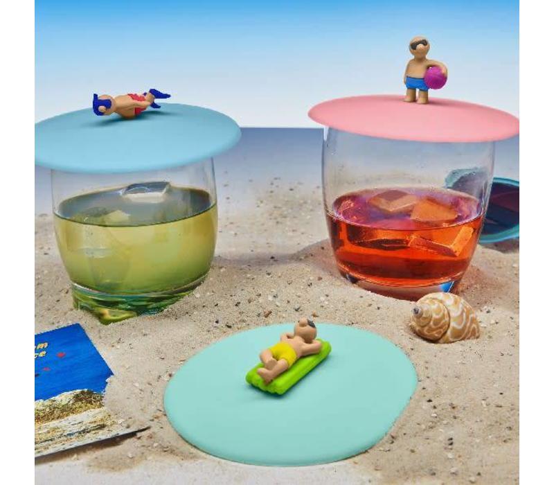 Deksel voor Glas Beach Boy - 1 pièce