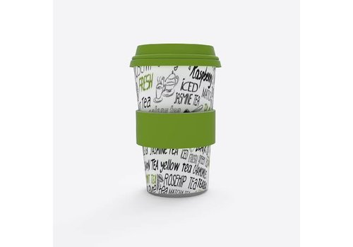 Point Virgule Travel Mug 'Tea'
