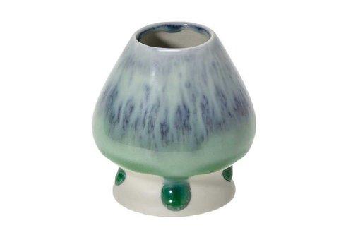 Matcha Klopper Houder Turquoise