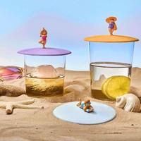 Deksel voor Glas Beach Girl