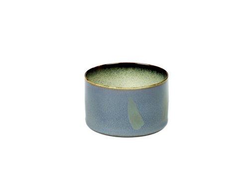 Anita Le Grelle gobelet cylindre bas d7.5 h5 smokey blue / misty grey
