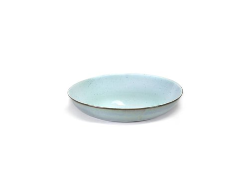 Anita Le Grelle pasta bord d23,5 h4,5 cm light blue/smokey blue