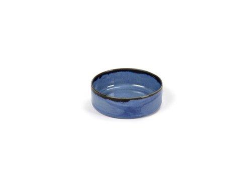 Anita Le Grelle bowl s cylinder laag d7,5 h1,8 blauw