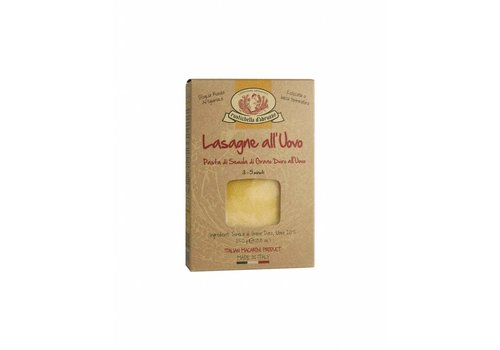 Rustichella d'Abruzzo Lasagne all'uovo