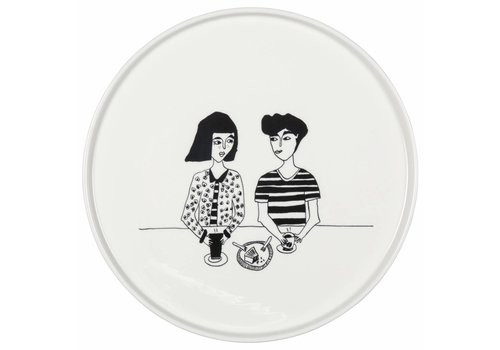 helen b schotel cake couple