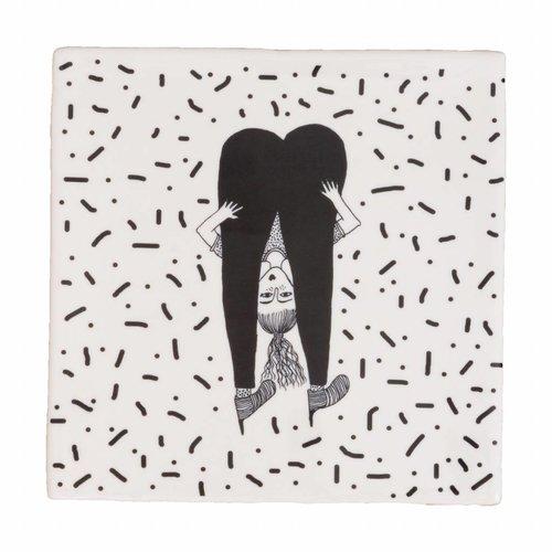 Onderzetter Tegel upside down