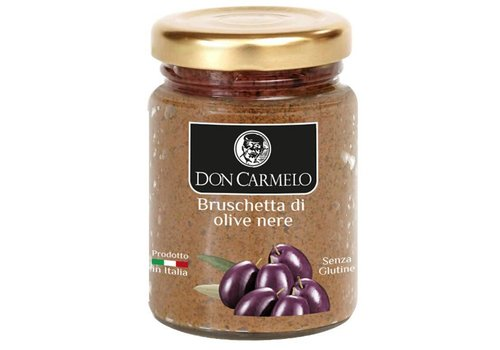 Don Carmelo Bruschette di olive nere