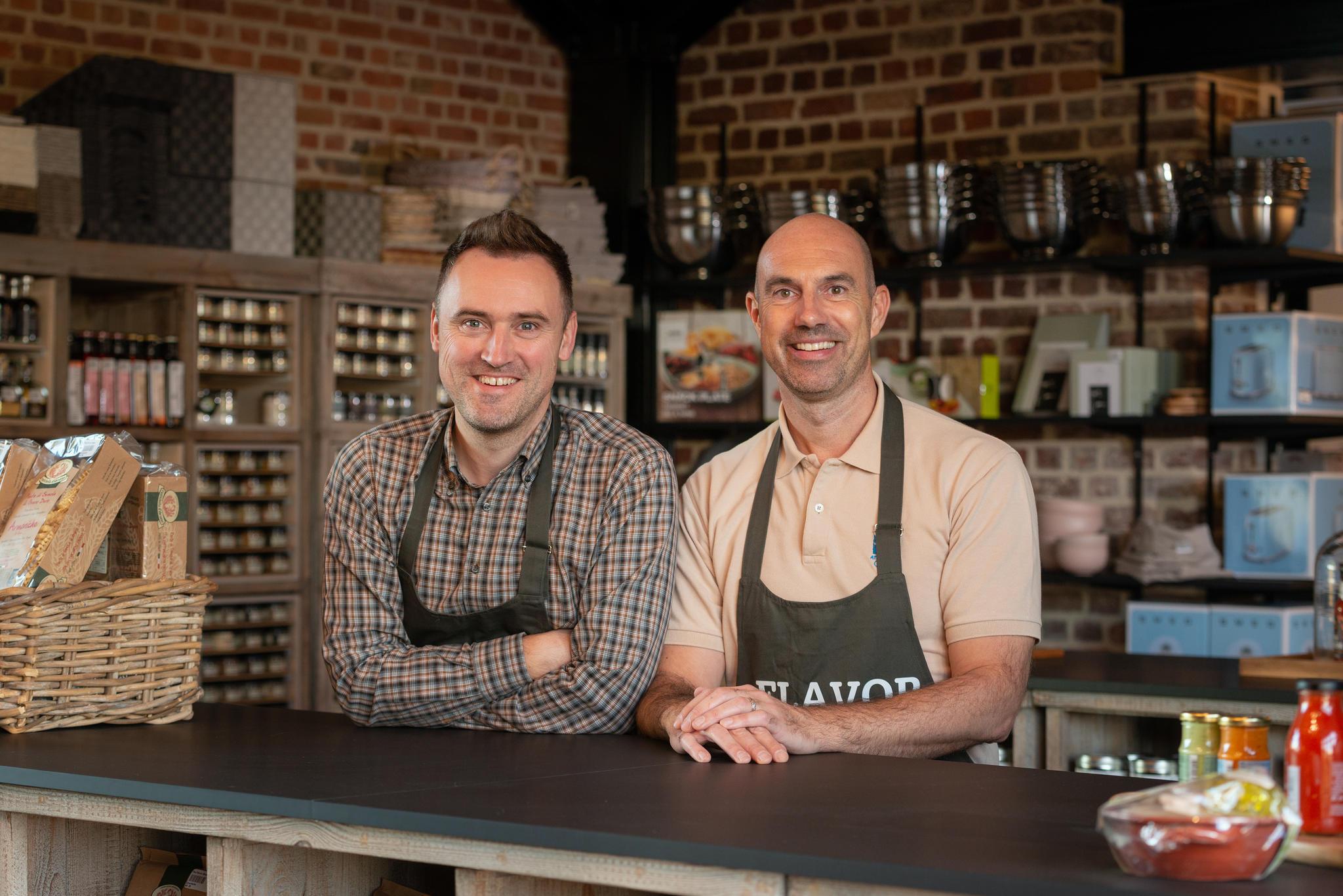 Birger Vanacker & Steven Piens van Flavor Shop