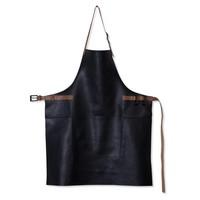 Barbecueschort Black / Cognac