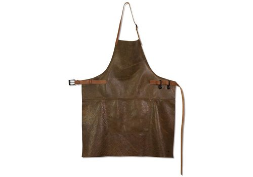 DutchDeluxes Barbecueschort Vintage Brown/Cognac