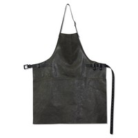 Barbecueschort Vintage Grey/Black