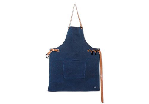 DutchDeluxes Barbecueschort Dark Blue