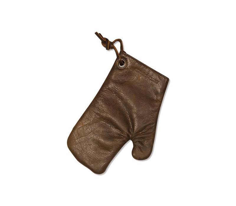Lederen Ovenwant Colour Vintage Brown - DutchDeluxes