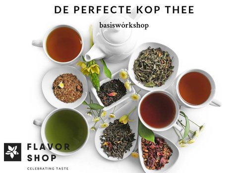 10/02/2019 - De perfecte kop thee - Basisworkshop