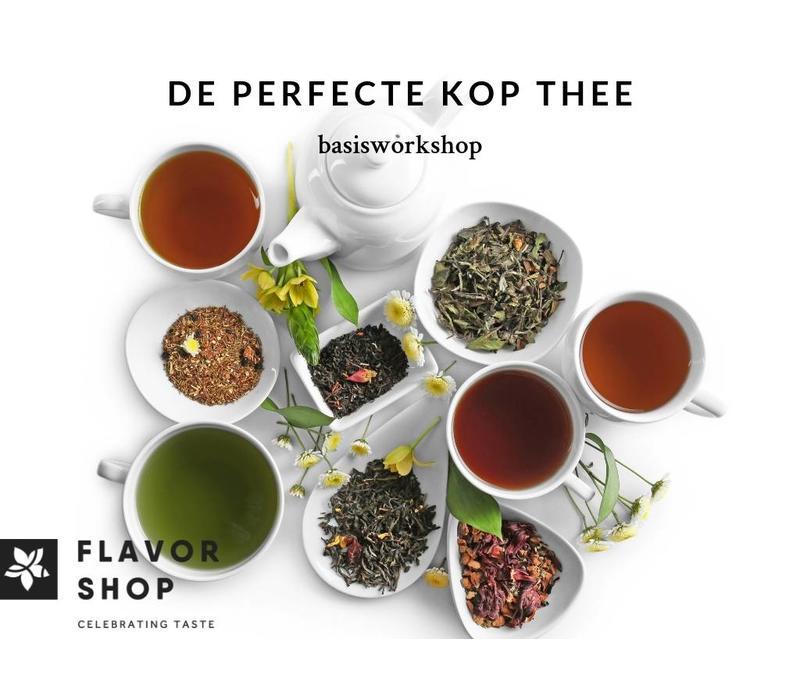 10/02/2019 - De perfecte kop thee - Basisworkshop