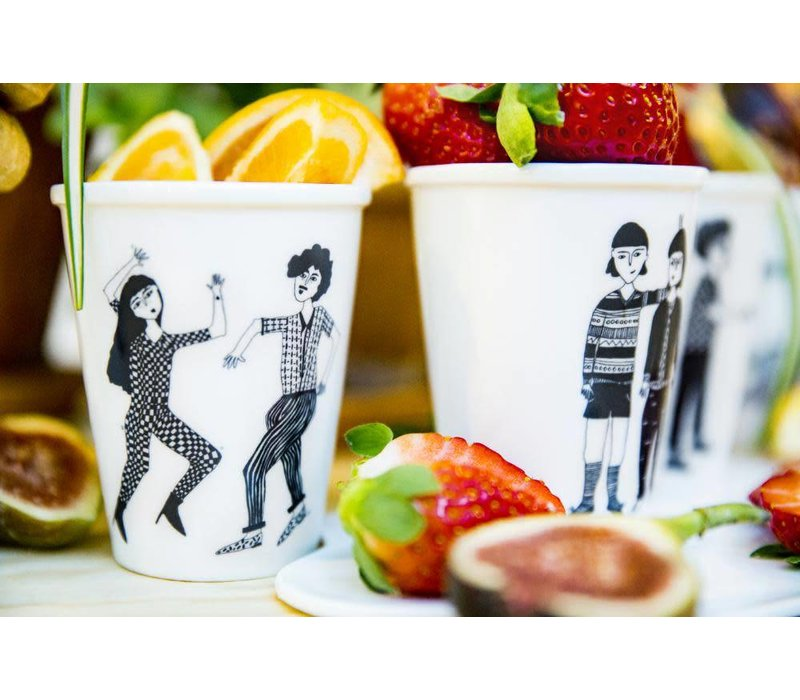Copy of tasse en porcelaine helen & peter