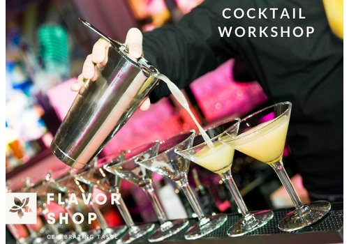 13/04/2019 - Cocktail Shaking Workshop