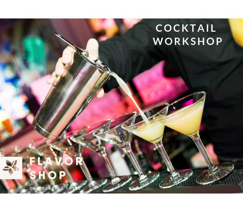 13/04/2019 - Cocktail Shaking Workshop
