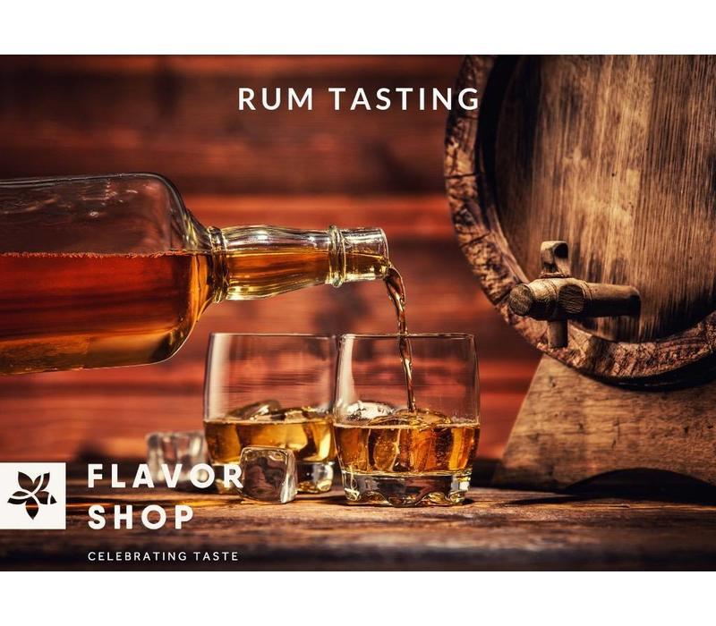 05/04/2019 - Rum Tasting