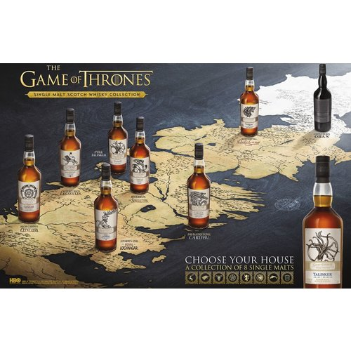 Game of Thrones Whisky Collection (8 flessen)