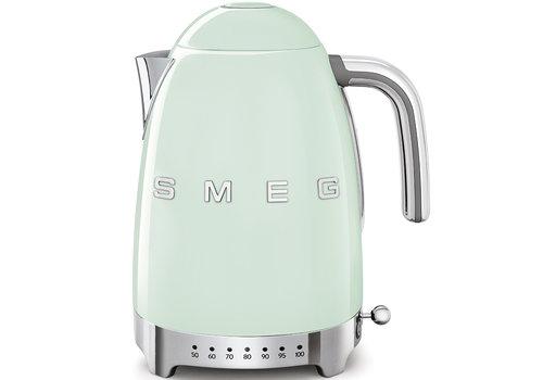 SMEG Waterkoker Instelbaar Groen KLF04PGEU