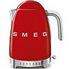 SMEG Waterkoker Instelbaar Rood SMEG KLF04RDEU