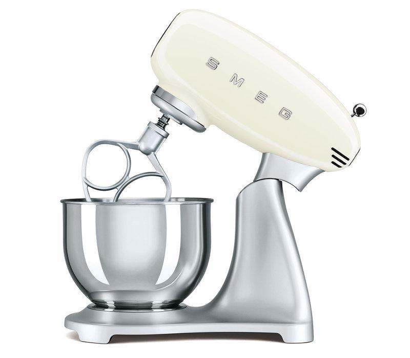 Robot de cuisine crème SMEG SMF01CREU