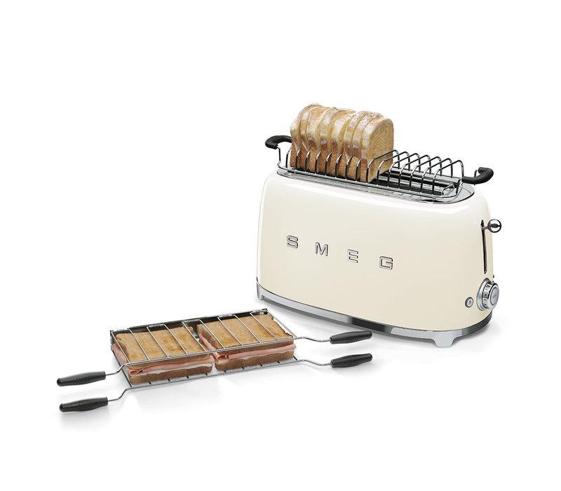 Broodrooster, 4 sneden, crème SMEG TSF02CREU