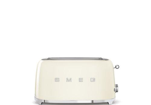 SMEG Broodrooster, 4 sneden, crème TSF02CREU