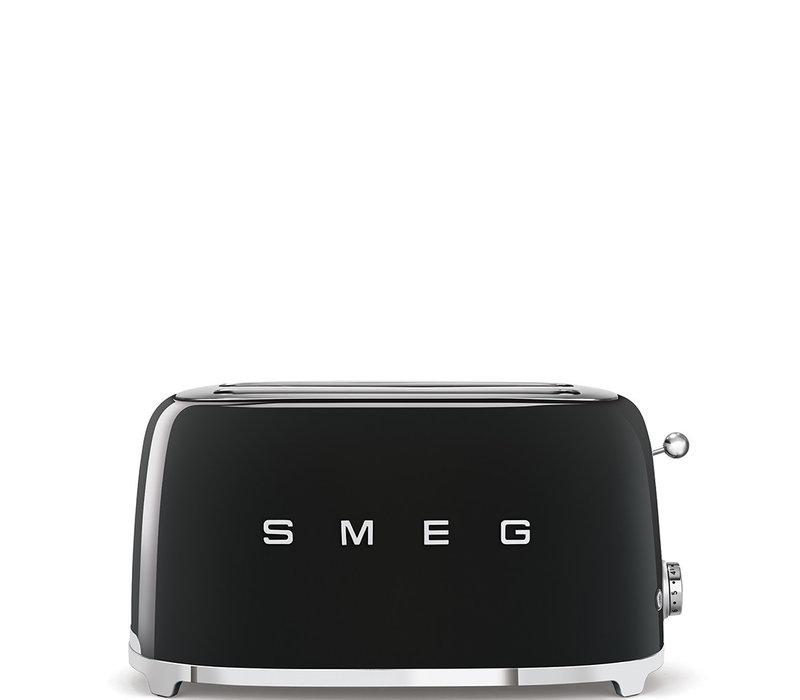 Grille-pain, 4 tranches, Noir SMEG TSF02BLEU