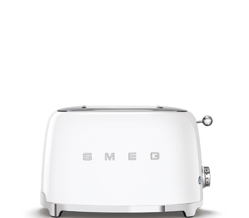 Grille-pain, 2 tranches, blanc SMEG TSF01WHEU