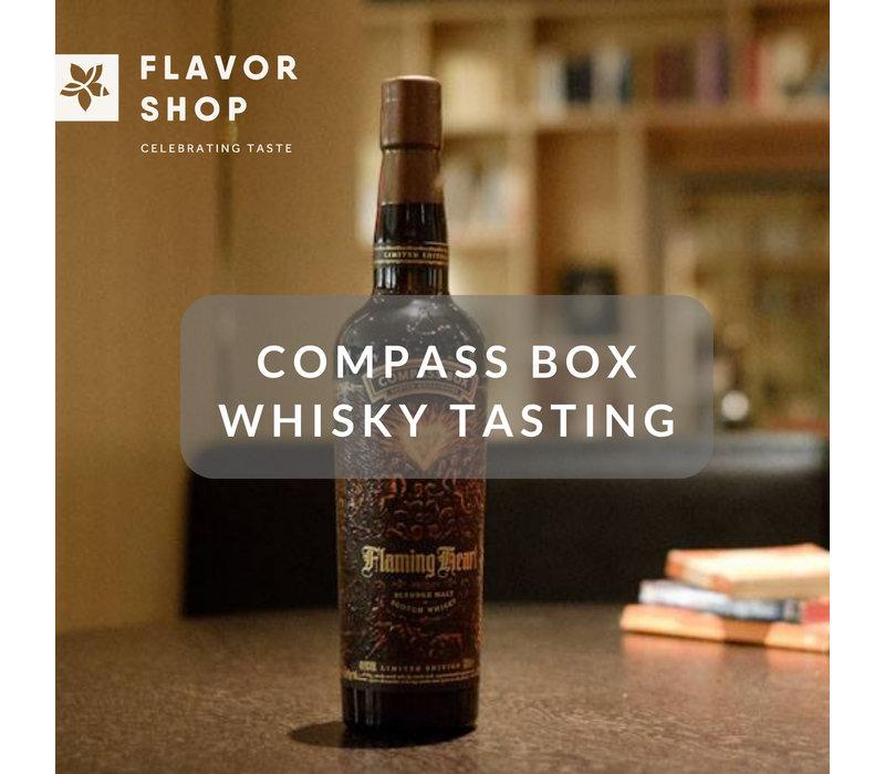 26/06/2019 - Dégustation de whisky Compass Box