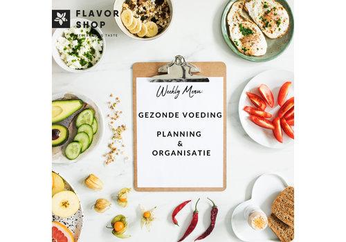 22/05/2019 - Gezonde voeding: Planning & Organisatie