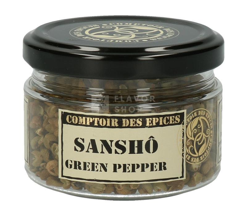 Poivre Sanshô Green Pepper