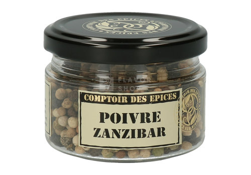 Le Comptoir des épices Poivre Zanzibar