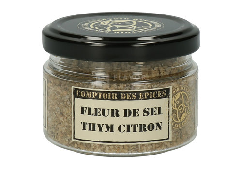 Le Comptoir des épices Citroentijm en fleur de sel