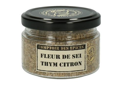 Le Comptoir des épices Fleur de sel et thym citron