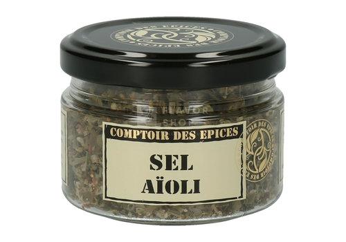 Le Comptoir des épices Sel Aïoli