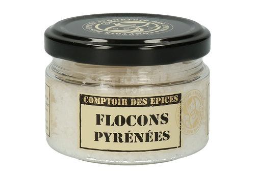 Le Comptoir des épices Sel Flocons des Pyrénées