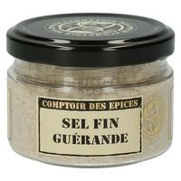 Fijn Grijs zout van de Guérande
