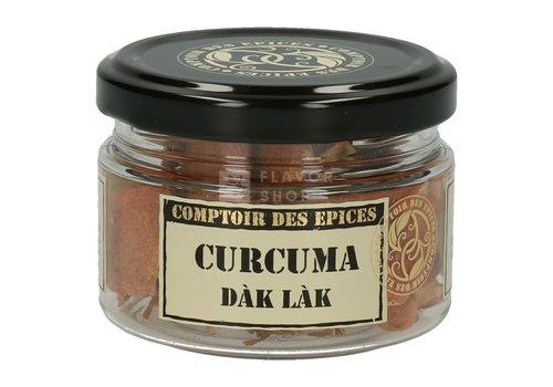 Le Comptoir des épices Kurkuma Dak Lak plakjes